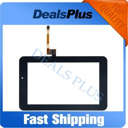 Wholesale Mediapad Youth - Wholesale- Replacement New Touch Screen Digitizer Glass For Huawei Mediapad 7 Youth2 Youth 2 S7-721U S7-721 7-inch Black Free Shipping
