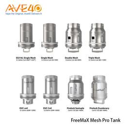 Deutschland 100% original freemax mesh pro spule ss316l doppel triple single mesh ersatz spulen für freemax mesh pro tank Versorgung