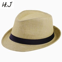 b1c15736e50df Summer Style Child Sun hat Beach Sunhat Fehat Trilby Straw panama boy girl  Gangster Cap Fit For Kids Children Women Men