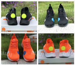Volano originale online-2018 Orange Zoom Fly Mercurial Uomo e donna Running Sneakers Scarpe nere AO2115 con scatola originale Zoom Scarpe Fly White EUR36 ~ 44