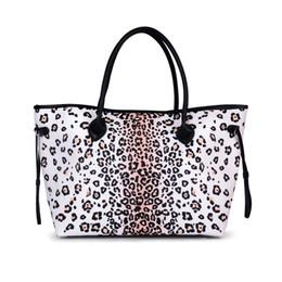 Tote Bag terra leopardo in bianco e nero Leopard Print Canvas Borsa Fashion  Tote Bag Shopping bag grande DOM874 3f02920dcb0