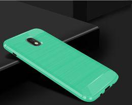 Canada Couverture de téléphone douce brossé de fibre de carbone de 1.5mm pour Samsung Galaxy Express Prime Couverture de fibre de fibre étoilé de 2018 J3 Prime 3 2018 Amp Offre
