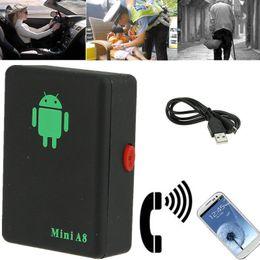 rastreador global por atacado Desconto Mini Atacado A8 Tempo real carro GPS Tracker Localizador Global Rastreamento GSM Dispositivo Para Car Kid Pet DHL UPS frete grátis