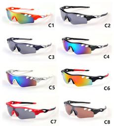 Yaz Marka GÜNEŞ gözlük erkekler için Bisiklet Cam Spor güneş gözlüğü Dazzle renk Daha Stiller Mix Sipariş Kabul 9181 nereden sipariş camları tedarikçiler