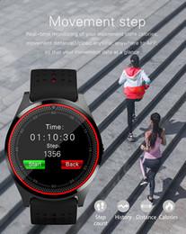 Smartwatch u8 dhl online-V9 Smartwatch Android V8 DZ09 U8 Samsung Smart-Uhren SIM Intelligente Handy-Uhr kann den Schlafzustand Smart-Uhr DHL frei aufnehmen