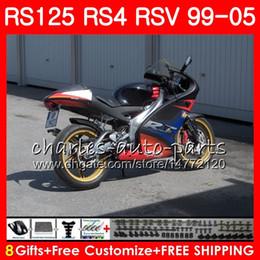 Aprilia rs 125 vollverkleidung online-RS125R Für Aprilia RS 125 1999 2000 2001 2002 2003 2005 100HM.17 RSV125R RS4 RS-125 RSV125R RS125 99 00 01 02 03 04 05 Verkleidung VOLLschwarz