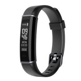Contador de calorías de la muñeca online-Smart Podómetro Deportes Reloj de pulsera Calculadora de calorías Bluetooth Step Counter Band para caminar Running