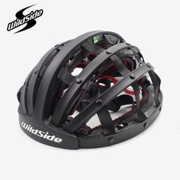 road bike helmet for women Promo Codes - Cycling foldable helmet road mtb mountain soft city bike helmet capacete ciclismo for men women bicycle Equipment