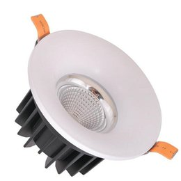 Wholesale Downlight Led Cob 25w - 10pcs lot Dimmable LED Downlight 10W 15W 18W 20W 25W AC85V-265V COB LED DownLights COB Spot Recessed Down light