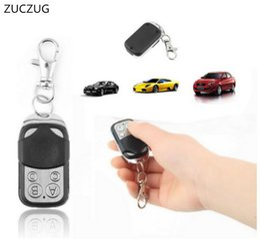 Wholesale Gate Opener Remotes - ZUCZUG 433mhz Garage Door Remote Control Presentation Universal Car Gate Cloning Rolling Code Remote Duplicator Opener Key Fob