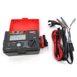 Wholesale Multi Function Meters - UNI-T UT526 Multi-function digital meter Electrical Insulation Tester Earth Resistance Meter RCD Test UT526