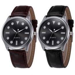 women watches sale geneva 2018 - Fashion erkek saat Geneva Simple Style Quartz Watch Women Girl Leather Band Wrist Bracelet Watches Hot sale Dropship Relogio &Ff