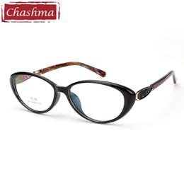 f804a7b084 2019 marcos para gafas de mujer Marca Chashma Cat Eye Glasses Frame FEmale  Negro Gafas TR90