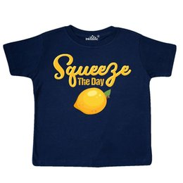 crianças frescas Desconto Inktastic Lemon Squeeze O Dia da Criança T-Shirt Suco Seize Principal Fruta Fresh Kid Engraçado frete grátis Unisex Casual tee presente