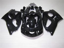 Wholesale 1996 Gsxr - New ABS fairing kit fit for SUZUKI GSXR600 GSXR750 SRAD fairings set 1996 1997 1998 1999 2000 GSXR 600 750 96 97 98 99 00 all black