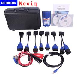Wholesale Nexiq Scanner - NEXIQ 125032 USB Link Heavy Duty Truck scanner Diesel Truck Interface