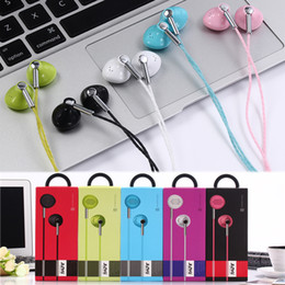 Wholesale Earphone Mic Volume Iphone - JY-352 Earphone Earphones Headphones Earbuds Headset For iPhone Samsung Phone In Ear wired With Mic Volume Control 3.5mm With RetailBox