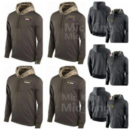 Wholesale england patriots - Men's Women Youth Minnesota # Viking New England # New Orleans Saint New York Giant Patriot alute to Service Sideline Therma Pullover Hoodie