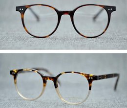 db901155b5 Men Optical Glasses Frame Myopia Eyeglasses Oliver Peoples Eyewear OV5318 Brand  Designer Round Frame Eyeglasses Frames for Women with Case