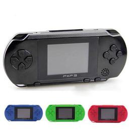 Jeux vidéo de télévision en gros en Ligne-30PCS En Gros PXP3 16 bits TV Console de jeux vidéo Consoles de jeu portables PXP Mini-joueurs de jeux de poche Pour GBA Jeux DHL YX-PXP-1