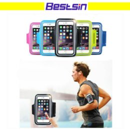 Wholesale Iphone Waterproof Case Clip - Waterproof Sport Running Workout Holder Pounch Case For iphone 6 6S 6 6S Plus 7 8 Samsung S6 S6 S6 Edge S7 S7