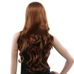 80CM Parrucche sintetiche ondulate lunghe con frangia Colori dei capelli per le donne Aspetto naturale e aspetto realistico Design moderno e morbida stratificazione supplier long wavy hair bangs da bandiere lunghe ondulate fornitori