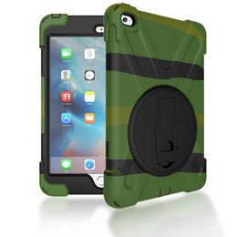 Argentina Funda híbrida de silicona a prueba de golpes Funda protectora con soporte para iPad Mini 2 3 4 Tablet supplier mini apple tablet Suministro