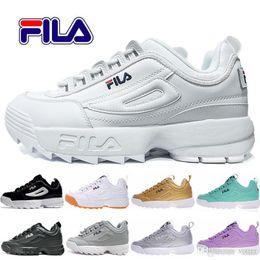Disruptores 2 Sawtooth Papá zapatos para correr para hombre, para mujer, Blanco, Negro, Rosa, Raf Simons, ozweego, Zapatillas de deporte grandes para mujer, Sawtooth, 36-44 desde fabricantes