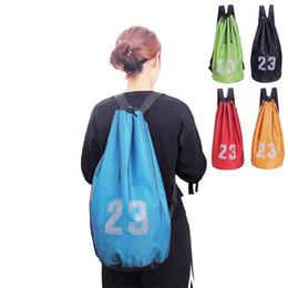 panel de redes Rebajas Bolsa de entrenamiento de fútbol de baloncesto Paquete de red duradero Paquete de bolsillo Ejercicio físico Bolsas de almacenamiento portátil de alta resistencia Conveniente 15ph