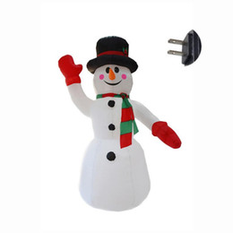 Décoration de Noël gonflable de père Noël de bonhomme de neige pour des vacances + fan de lieux de divertissement de marché de dîner d'hôtels ? partir de fabricateur