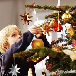Star Pull Blume Stern Papier Geburtstag Banner Girlanden Kette Banner Ornamente Hochzeit Weihnachtsdekoration Partei Liefert Klassenzimmer Layout 4 Mt von Fabrikanten