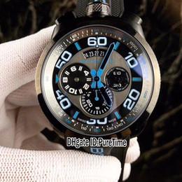 конверсия стали Скидка Новый PVD черный стальной Болт Бомберг 68 швейцарский 3540d Кварцевый хронограф механизм мужские часы секундомер 6 цветов (преобразование карманные часы) резина