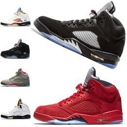 the best attitude 9e82d 9e663 beliebte großhandel schuhe Rabatt Air Jordan Retro 5 5s Nike AJ5  Großhandels-populäre Männer beschuht
