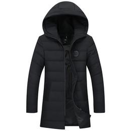 самое теплое длинное пальто Скидка new long warm winter plus size Jacket men waterproof  clothing male cotton autumn coat quality black down Parkas men 8XL