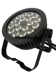 Wholesale slim par - 6 pieces18x10w rgbw Led Flat Par Can Slim Led Par 64 outdoor led par light for sale