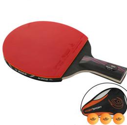 ping pong raquette tennis de table Pagaie Batte penhold Quelques Deal pour poignée plus courte