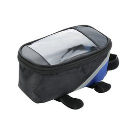 Wholesale touchscreen frame - Bicycle Bag Touchscreen Bike Front Frame Bags Holder Pannier Waterproof Cycle