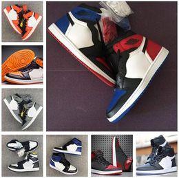 Wholesale Top High Cut Basketball Shoes - High 1 Top 3 mens Basketball Shoes 1s sport shoe sneaker
