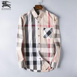 Мужские рубашки с длинным рукавом онлайн-Новый чистый цвет рубашки, мужская повседневная рубашка, бизнес супер-непобедимый красивый парень простой шаблон, рубашка с длинным рукавом размер S-XXXL-5