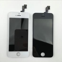 Iphone 5c lcd digitizer aaa en Ligne-AAA + Haute Qualité Pour iPhone 5 5C 5S LCD écran de remplacement avec Assemblée Écran Tactile Digitizer Cadre