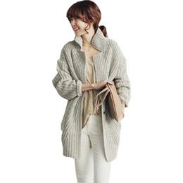 2018 Mode Frauen Koreanische Version Lange Pullover Strickjacke Herbst Und  Winter Neue Dicke frauen Pullover Vestidos MMY16909 koreanischer dicker  pullover ... 8eab0e337d