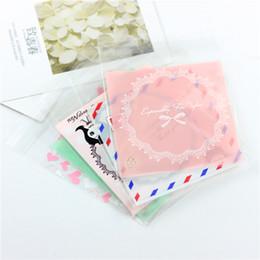 Collar de joyas de plástico bolsas online-Opp de joyería pulseras de plástico del paquete pendiente Bolsa Collar lindo bolsa Paquete 500pcs el 10cm * 12cm regalo de Navidad barato regalo