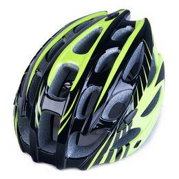 Casque vert clair en Ligne-230g 54-62 cm Ultra-léger Casque De Vélo De Course Sur Route Vert Endurance Vélo Vélo Sécurité Casque De Sport Cascos Ciclismo