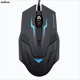 Wholesale used laptop pcs - 2017 New Mouse Players Gamer use 1600 DPI 3 Button Optical USB Wired Gaming Mouse For PC Laptop for X7 CF LOL mause Dropshipping