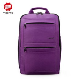 Wholesale Trend Girls Bag - Women Backpacks For Teenage Girls Youth Trend Schoolbag Boys Student Bag TIGERNU BRAND Nylon Waterproof Laptop Backpack Men