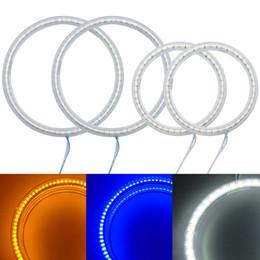 Lada kalina online-4Pcs / Set Auto SMD Angel Eyes Light Halo Ring per Lada Kalina 1119 Lampada frontale # 1166