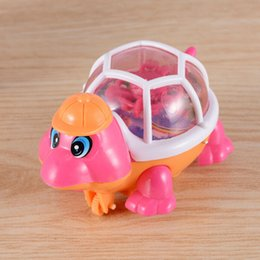Wholesale Turtle Light Kids - New Arrival Lovely Pull Emitting Little Turtle Light children Developmental toy Baby Infant Kids Toy gifts