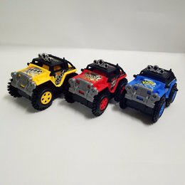 Wholesale Red Toy Jeep - The New Cross-country Inertia Car Baby Development Toys for Children Girl Boy Jeep Models