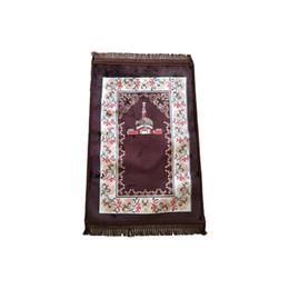 Esteras de oración musulmana online-Los musulmanes rezan las alfombras persas estera de la alfombra del piso del fin de semana cubren la pila multicolor de alta calidad material suave