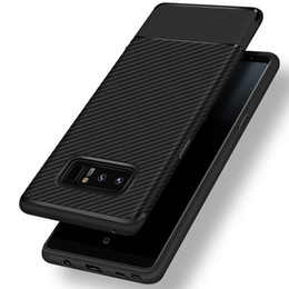 Wholesale Wholesale Defender Cases - Rugged Armor Hybrid Carbon Fiber Shockproof Protection Defender Soft TPU Cover Case For iPhone X 8 7 Plus 6 6S Samsung Galaxy S9 S8 Note 8